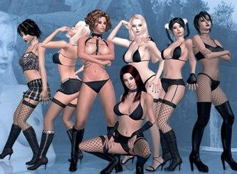 3d sexvilla interactivo porno juego