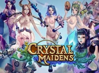 Crystal Maidens RTS juego de adulto con las aventuras