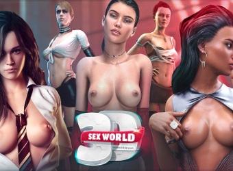 Juego porno de siguiente generación Sex World 3D