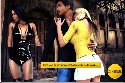Prostituta callejera seduce a un par