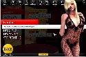Prostituta pantimedias posando