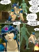 Anime esclavo toma caliente corrida en cara