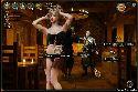 Danzas camarera travieso para los visitantes inn